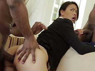 Hot Asian Milf in BBC Triptych