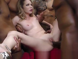 Ho creampied apart from black rod