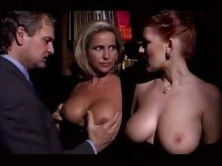 Milf Couple Parcelling Bosomy Redhead Lady