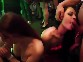 Oomph gang babes blether on strippers bushwa