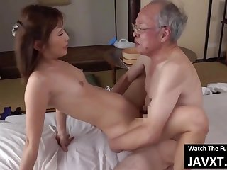 Thrilling Asian Young Babe Had Sex by Grandpa - old and 18yo schoolgirl