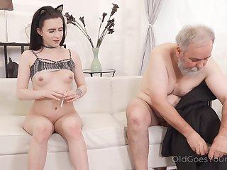 Babe, Blowjob, Cum, Cumshot, Hardcore, Horny, Lick, Old, Pussy, Riding, Sucking, Teen,