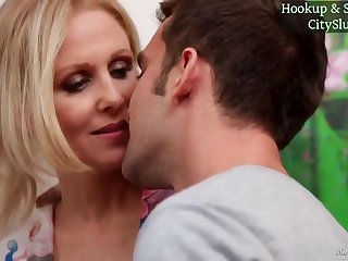 Blond Hair Stepmom Julia Ann Hot Sex Video