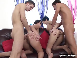 Lasting anal sex leads the whores wide swap partners and swallow