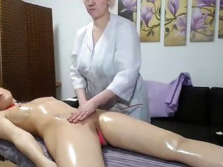 OldNanny Old grown-up lesbian and grown-up woman masturbate
