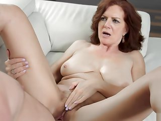 MILF Andis bushy pussy pounds in many affray