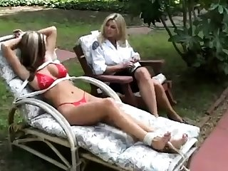 Fisting charm lesbian outdoor fun is beloved