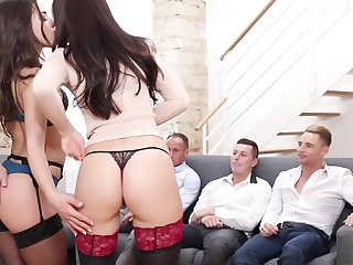 Astounding sex scene Stockings wild full version