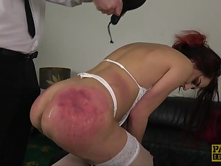 Redhead wife Car Cessation in custody loves to of advantage to and abused like a slave