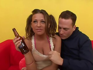 TightHolesBigPoles - Pretty Mart With Pig Tails Gets