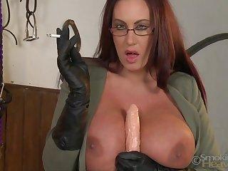 Big tits, Boobs, Brunette, Bus, Fetish, Masturbation, Mature, Mature big tits, Solo, Tits,