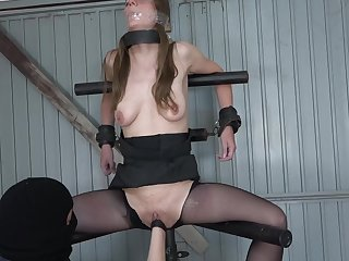 Milf Girl Fisted More than The Leg Spreader
